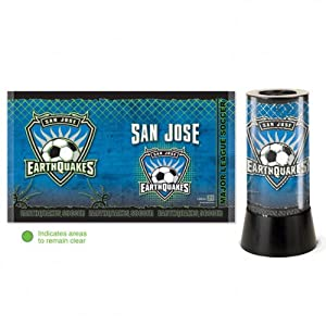 MLS San Jose Earthquakes Rotating Lamp by WinCraft