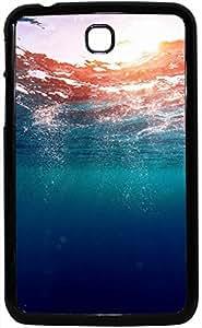 Enlinea Printed 2D Designer Hard Back Case For Samsung Galaxy Tab 3 Design-20043
