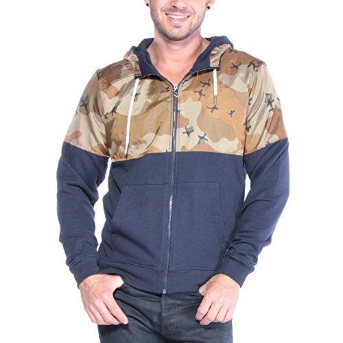 G-star - Jordan Hooded Vest Hoodie Uomo Nomad 3XL