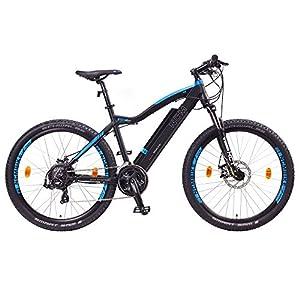 "NCM Moscow 2016, 29"" Zoll Elektrofahrrad Mountainbike,E-MTB E-Bike,Pedelec, 36V 250W Bafang Motor, 36V 13Ah designer Rahmen Akku,matt schwarz,hell blau from Leon Cycle"