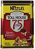 Nestle Chocolate Semi-Sweet Morsels Toll House 75 Years Limited Edition 1 lb 2oz Collector Canister!!!