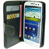 Etui Housse Luxe Portefeuille pour Samsung Galaxy S3 III Mini + STYLET et 3 FILM OFFERT !