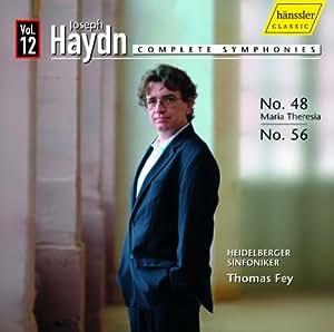 Symphonies N°48 & N°56 /Vol.12