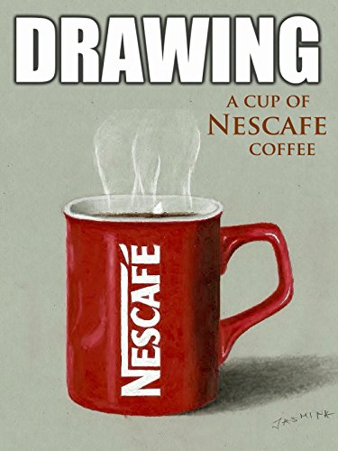 Clip: Drawing a Cup of Nescafe Coffee