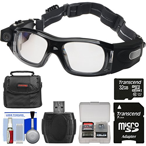 Coleman VisionHD G5HD-SPORT 1080p HD Action Video Camera Camcorder Waterproof POV Sports Safety Goggles with 32GB Card + Case + Reader + Kit (Coleman Hd Goggles compare prices)