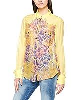 Meltin Pot Camisa Mujer (Amarillo)