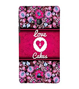 Love And Leashes 3D Hard Polycarbonate Designer Back Case Cover for Lumia Lumia 540 :: Microsoft Lumia 540