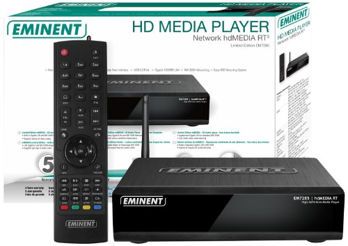 Eminent Limited Edition hdMEDIA HD Network Media Player (no Hard Drive)