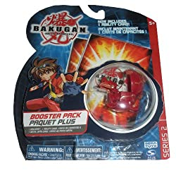 Bakugan Battle Brawlers Booster Pack Series 2 -Red Juggernoid