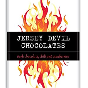 Jersey Devil Chocolates - Dark Chocolate Chili And Cranberries - Chocolate Bar by JerseyDevilChocolates.com