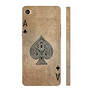 Enthopia Designer Hardshell Case Be The Ace Of Spades Back Cover for Oppo F1S
