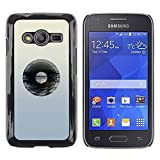 Plastic Shell Protective Case Cover Samsung Galaxy Ace 4 G313 SM G313F Vinyl Record Music Minimalist Artistic Music XPTECH