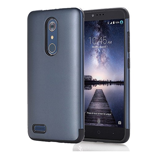 Why Choose ZTE ZMAX Pro Case, ZTE Carry Z981 Case, Asstar Slim Fit Dual Layer Hybrid Impact Resist R...