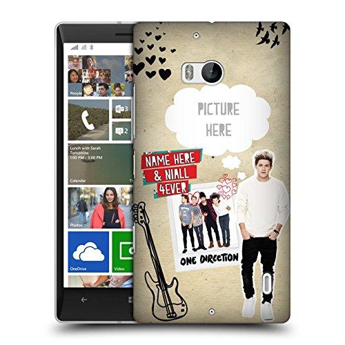 Cover Personalizzata Personale One Direction 1D Niall 4Ever I Ship Us Hard Case Per Nokia Lumia Icon / 929 / 930