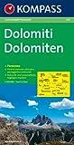 echange, troc Oliver Dolny - Dolomiten 1 : 150 000. Autokarte mit Panorama.