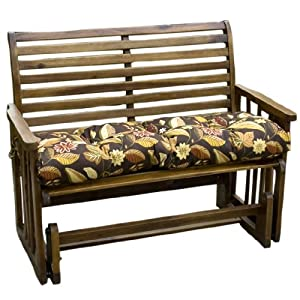 Greendale Home Fashions 46-Inch Indoor/Outdoor Swing/Bench Cushion, Timberland Floral from Greendale Home Fashions