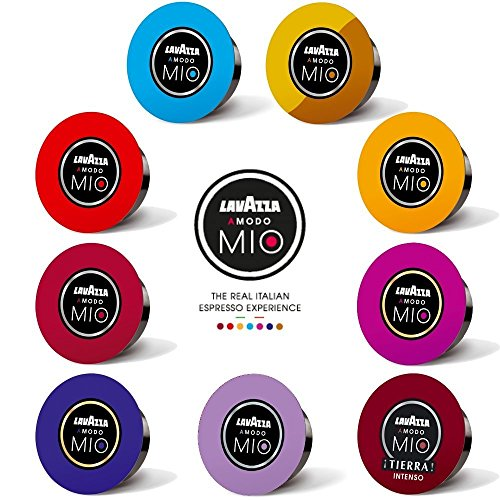 get lavazza a modo mio 9 flavour variety pack 45 pods at coffee pods capsu. Black Bedroom Furniture Sets. Home Design Ideas