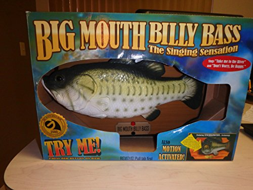 Big Mouth Billy Bass the Singing Sensation (Singing Bass Fish compare prices)