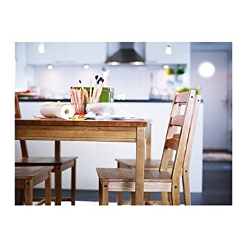 Ikea Jokkmokk Table Et 4 Chaises Tache Antique 14 L Afxmfkcv 78