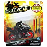 Snake Eyes with Ninja Speed Cycle GI Joe Retaliation Alpha Vehicle