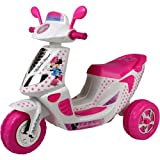 Disney Minnie Mouse 6-Volt 3 Wheel Scooter Battery Powered Ride-On