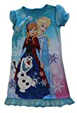 Disney Anna, Elsa and Olaf Sparkly Frozen Nightgown, Girls Sizes 4-8