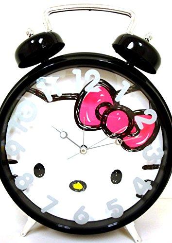 Hello Kitty Jumbo Twin Bell Clock Age 8+ - 1