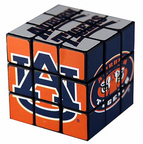 NCAA Auburn Tigers Toy Puzzle Cube - 1