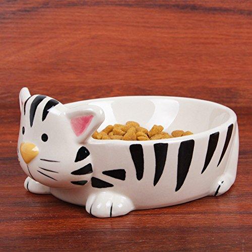Pet ciotola ceramica gatto senior di bocce/Teddy vaso di alimentazione del pet dog bowl stoviglie pentole piatti pet