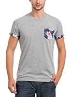 JACK WILLIAMS Camiseta Manga Corta (Gris)