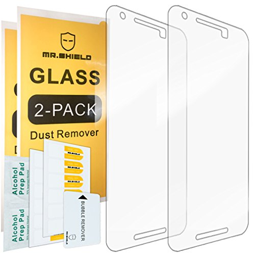 [2-PACK]-Mr Shield For LG (Google) Nexus 5X 2015 Newest [Tempered Glass] Screen Protector with Lifetime Replacement Warranty