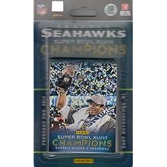Seattle Seahawks Super Bowl XLVIII Champions 18-Card Trading Card Set by Panini