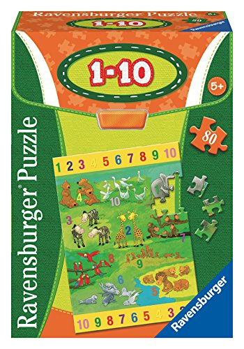 Ravensburger Numbers 1-10 Educational Puzzle (80 Piece) - 1