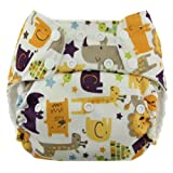 Swaddlebees Econappi Pocket Diaper, Jungle Jam