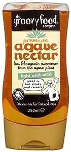 Groovy Food Premium Agave Nectar Mild 250 ml (Pack of 3)