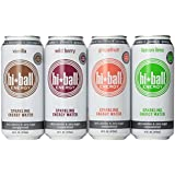 Hiball Energy Sparkling Water Variety Pack, 12 Count