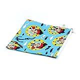 Disney Baby Reusable Snack Bag, Blue, Large