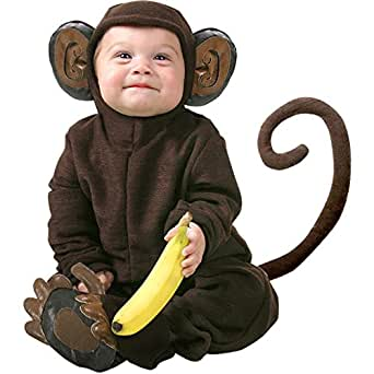 Amazon.com: Cute Infant Baby Monkey Halloween Costume, 12-18 Months: Infant And Toddler Costumes