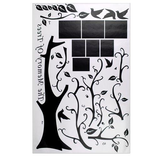 Pegatina Decorativa Adhesivo con Planta Vinilo de Decorar Casa Pared Pintar