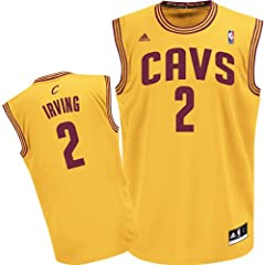 Cleveland Cavaliers Kyrie Irving Youth Gold Jersey by adidas