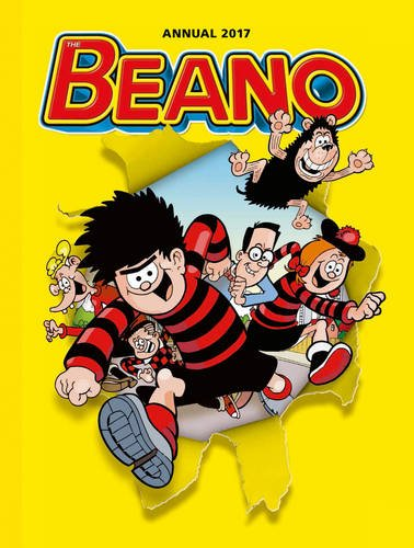 The Beano Annual 2017. No Christmas was complete without a Beano annual, and it remains one of the most popular annuals - it was first published in 1939.