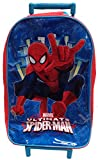 New Official Marvel Ultimate Spiderman Boys Holdall Travel Holiday Wheeled Trolley School Bag
