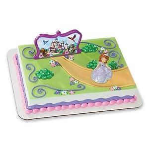 Sofia The First Sofia and Castle DecoSet Cake Topper: Toys & Games