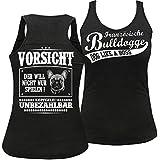Frauen und Damen Trägershirt Französische Bulldogge