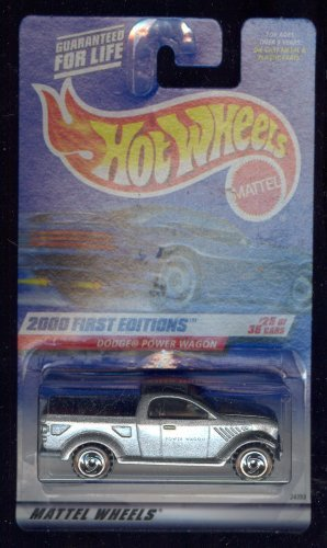 Hot Wheels 2000-085 Dodge Power Wagon 25 of 36 First Edition 1:64 Scale - 1