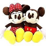 ディズニー ミッキーマウス&ミニーマウス ジャンボ50cmぬいぐるみ ミッキー&ミニー2種セット