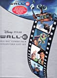 Wall-E Disney Pixar LIMITED EDITION GIFT SET Includes 2 Disc Blu-Ray, 1 Disc DVD, 1 Disc Disneyfile Digital Copy, Collectible Book, Sticker Book and Litho Set