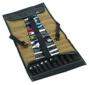 Custom LeatherCraft 1173 32-Pocket Socket Tool Roll Pouch