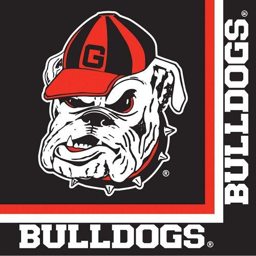 Creative Converting Georgia Bulldogs Luncheon Napkins (20 Count) (Georgia Bulldog Party Supplies compare prices)