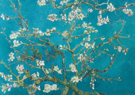 Van Gogh - Almond Blossom Giant Poster (39 X 54 inches) / Subway / Mural / Giant Almond Blossom Art Poster Print (54 X 39 Frame compare prices)